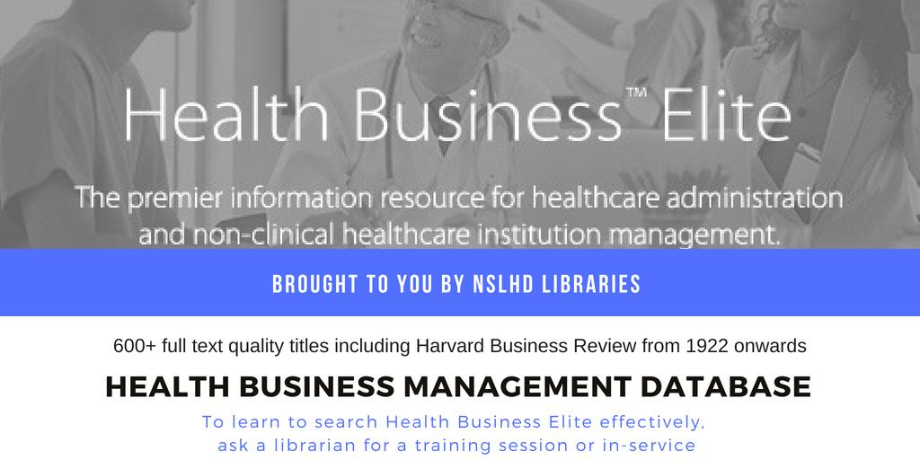 Health Management database